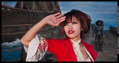 Joy - Pirate (herobyday) Tags: portrait girl nikon photoshoot pirate theme speedlight c