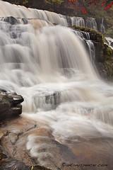 Sgwd Isaf Clun Gwyn (antonyspencer) Tags: park autumn wales landscape waterfall national spencer brecon beacons antony gwyn clun powys sgwd isaf