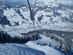Brixen Im Thale from Gondola (stevenhoneyman) Tags: foothills mountain snow ski alps austria europe skiing im cable pylon alpine gondola kaiser osterreich alp tyrol wilder salve hohe piste brixen welt kufstein soll thale tyrolean skiwelt zinsberg choralpe solllandl