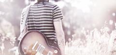 (Luis Hernandez - D2k6.es) Tags: light usa sun luz sol golden promo foto weekend guitarra bosque hour singer gibson jere cantante nassaukade guittar rubí