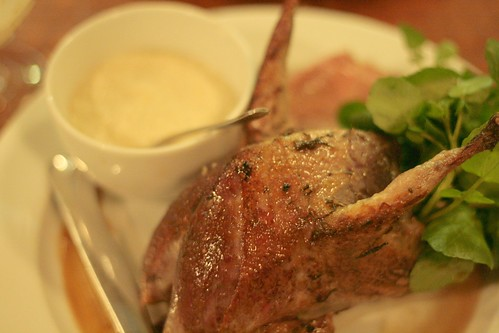Grouse @St John Bread & Wine