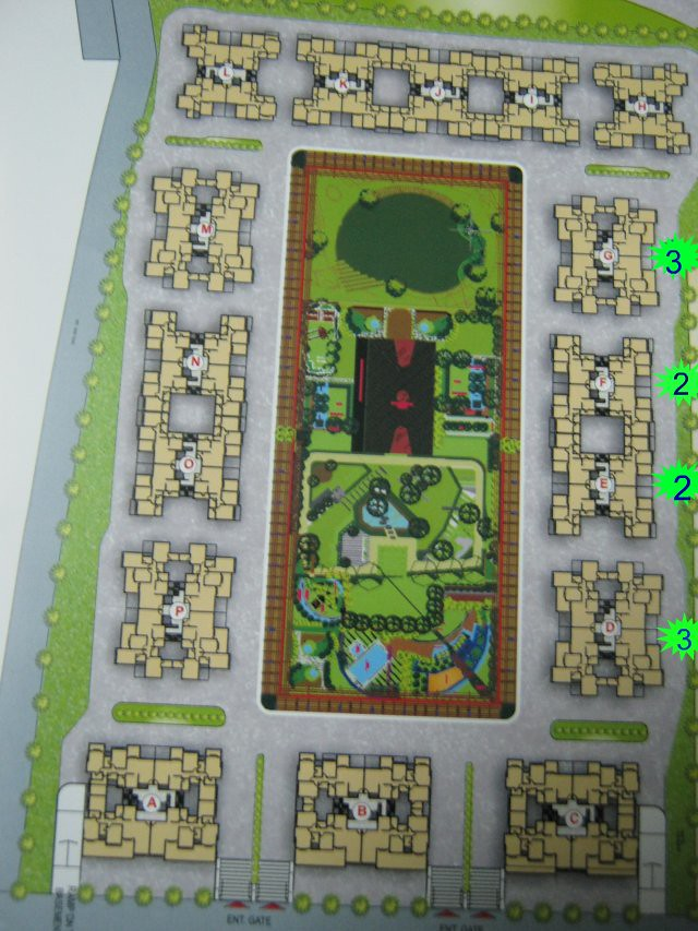 Paranjape Schemes' Yuthika 2 BHK & 3 BHK Flats at Baner Pune - Layout Plan