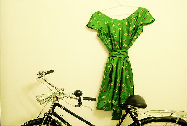 the green sari