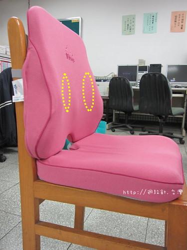 10days辦公護脊坐墊組腰靠