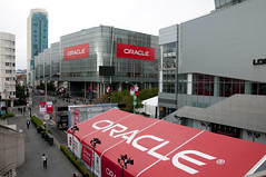 Howard Street Tents, Oracle OpenWorld & JavaOne + Develop 2010