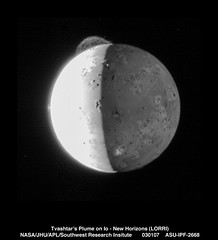 Tvashtars Plume (Lunar and Planetary Institute) Tags: io 2007 newhorizons
