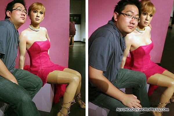 Me with Ayumi Hamasaki