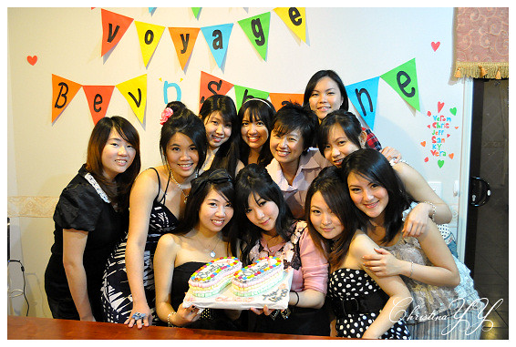 surprise Farewell Party: The Girls