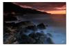 cala daia (chris frick) Tags: longexposure sunset seascape rocks dusk sony explore mallorca tobacco mediterraneansea cokinfilter cokin gnd originalcolors explore132 a550 chrisfrick colorgradients sonyalpha550 caladaia