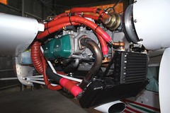 Tecnam P2006T - Engine (_ Night Flier _) Tags: airplane aviation engine inside propeller rotax internal aeronautic multiengine tecnam p2006t iflaa
