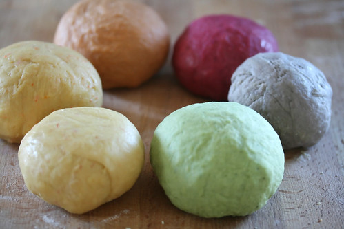 Coloured Pasta Dough