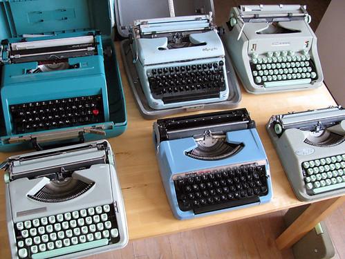 typewriter lineup