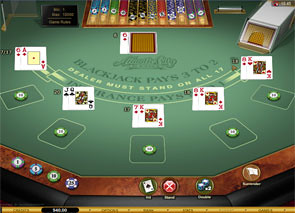 Atlantic City Blackjack Gold Series