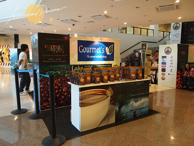 Booth with Lake Sebu