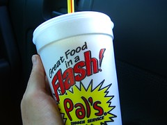 pal's vanilla shake