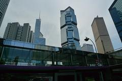 Lippo Centre Hong Kong afar (Phoebe Lim) Tags: hongkongisland lippocentre tallbuilding hongkongsightseeing