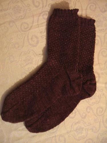 Shimmer socks