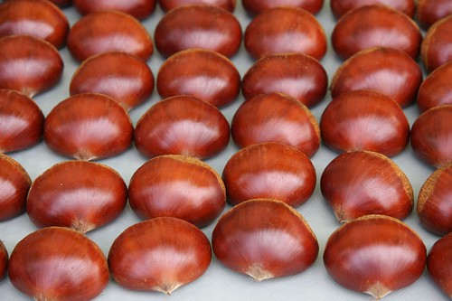 Appetizing chestnuts