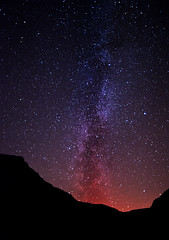 Fire in the (ISO6400) sky (c@rljones) Tags: sky mountains silhouette wales night dark stars landscape space cymru galaxy scifi astronomy snowdonia universe magical cosmos gwynedd milkyway starfield