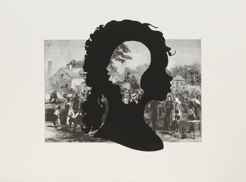 exodus of confederates from atlanta kara walker