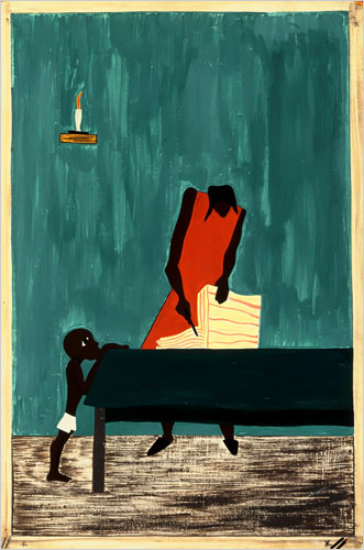 jacob_lawrence_the migration of the negro