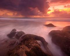Pererenan (Helminadia Ranford) Tags: sunset bali seascape beach night indonesia cloudy dusk helminadia pererenan