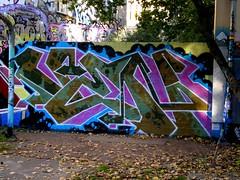 Ven Berlin (vendalism) Tags: nyc subway graffiti 1980s ven venberlin deutschlandoctober2010