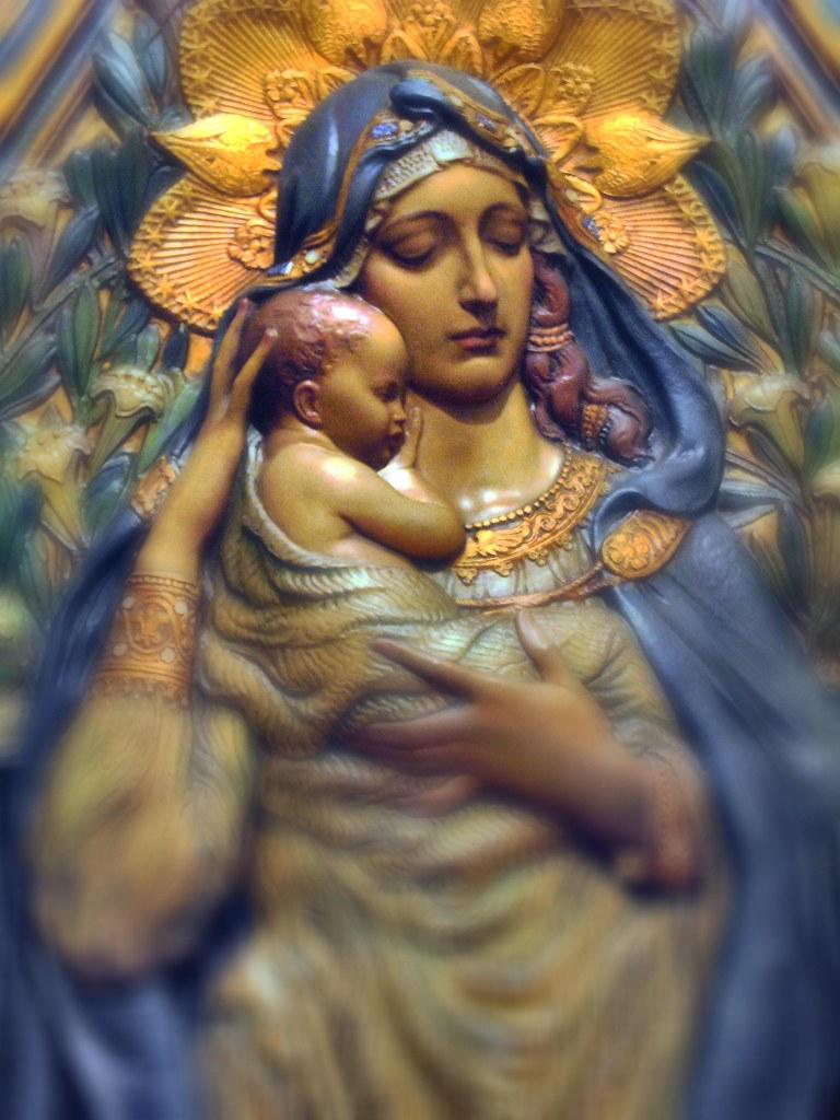 Mary, Our Model in Prayer dans immagini sacre 5082556302_5f607ea864_b