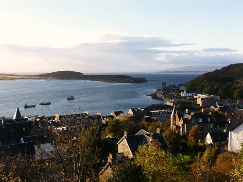 View of Oban Harbour