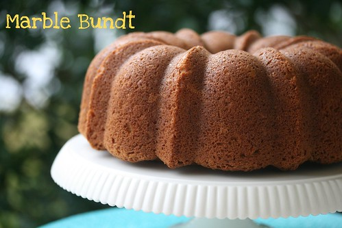 Marble Bundt Cake - I Like Big Bundts