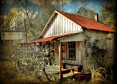 Curry's (Brian Brown Photography/Vanishing Media) Tags: pictures winter usa texture rural ga bench photo decay southern vernacular frontporch currys oconee 2010 countrystore washingtoncounty copyrightbrianbrown