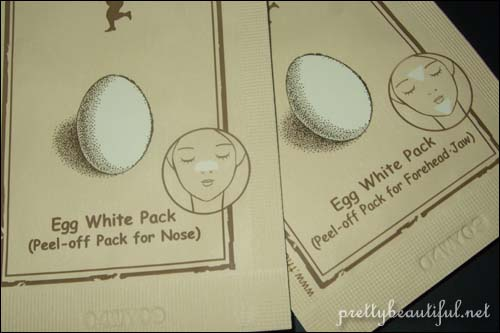 skinfood eggwhite pack peel off pack for nose, forehead and jaw