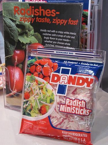 Radish MiniSticks from Duda