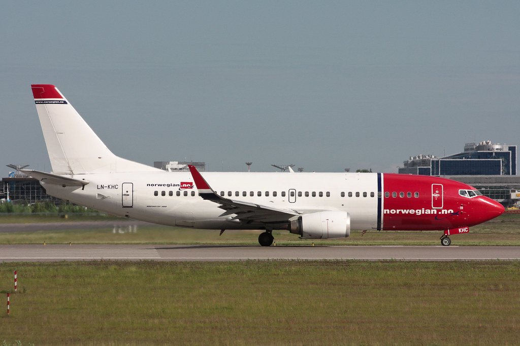 Norwegian Air Shuttle - LN-KHC - Boeing 737-31S