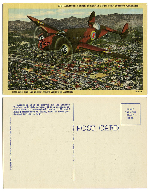 Lockheed Hudson Bomber_tatteredandlost