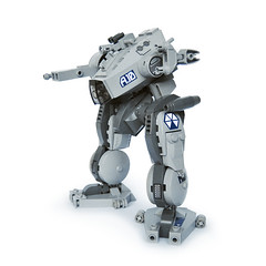 Tiinusu A10 - Ground Type (Fredoichi) Tags: robot lego space military walker micro mecha mech biped microscale fredoichi