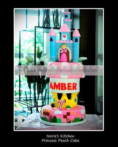Norie's Kitchen - Super Mario Bros - Princess Peach Cake