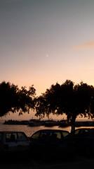 116 Plakias - sunset - nailsnip moon (Mark & Naomi Iliff) Tags: crete κρήτη greece ελλάδα plakias πλακιάσ sunset moon daylightmoon ελλαδα