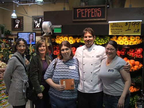 Food Bloggers with Chef John Gruver of Giant Eagle Market District
