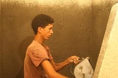 Preparar as paredes para Tadelakt
