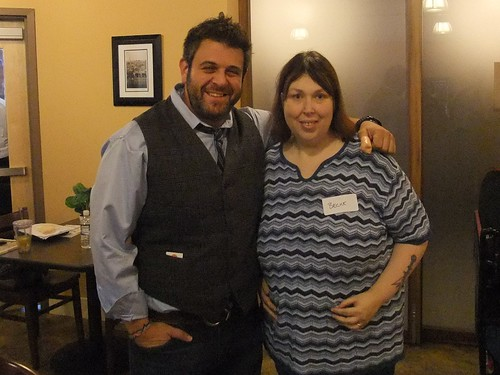 Me with Adam Richman