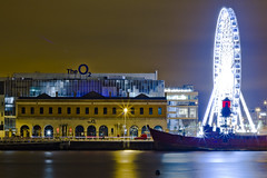 The O2 (@ANDYwithCAMERA) Tags: street city urban dublin andy wheel night canon river observation point lights boat big creative o2 commons ferris andrew 7d depot doyle hatch studios riverliffey the brightsky andydoyle andrewdoyle andrewjdoyle andydoyleie andywithcamera httpandydoyleie
