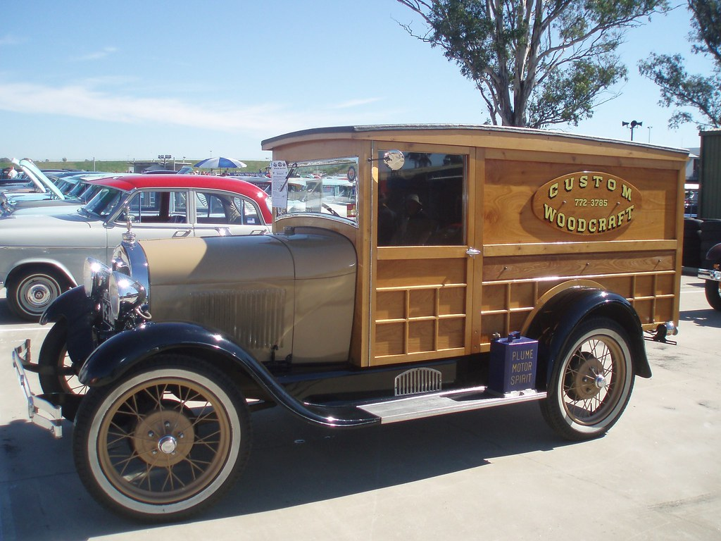 1929 Ford Model A panel van by sv1ambo, on Flickr