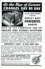 radio vintage magazine print thirties ad advertisement advert receiver 1939 30s nationalgeographic ehscott