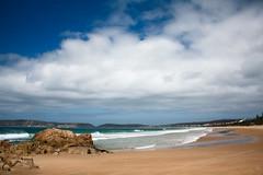 Plettenbergbaai (noelboss) Tags: africa beach clouds see sand south knysna plettenbergbaai