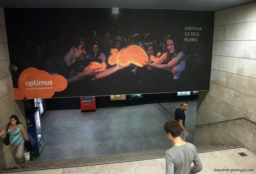 Publicidade no metro