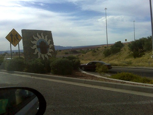 entering las cruces