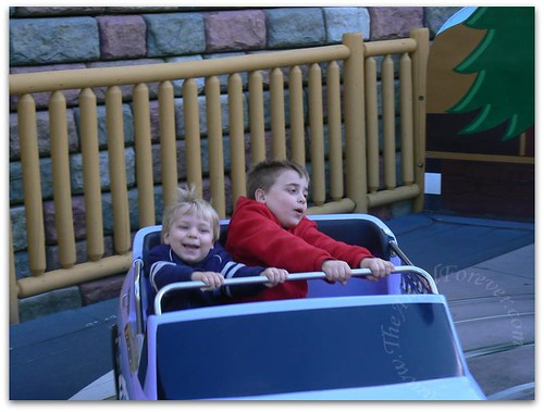 Their favorite ride of the day