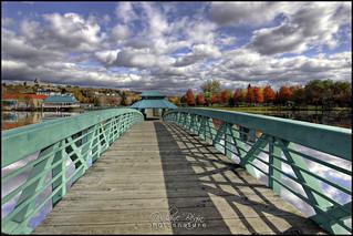 Pont Bernard Valcourt Bridge