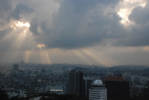 Clouds over Seoul
